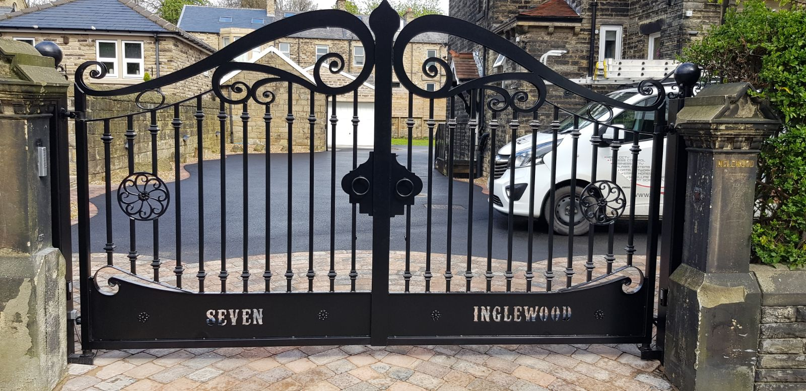 Automated Gated Installation Huddersfield